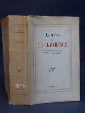 LETTRES DE T.E. LAWRENCE - GAUCLÈRE  [ÉTIEMBLE et YASSU] - 1948