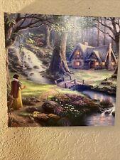 New ListingThomas Kinkade Snow White Discovers the Cottage Gallery Wrapped Canvas Disney
