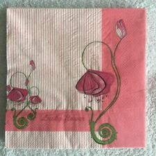 Vintage Lucky Flower Decoupage Paper Napkins Tissue Wedding Party Christmas A78