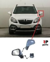 FOR OPEL VAUXHALL MOKKA 12-16 NEW WING MIRROR ELECTRIC HEATED PRIMED LEFT LHD
