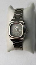Ladies Seiko 5 Automatic Watch W/ Hooded Lugs & Day/Date Calendar 4206-5030