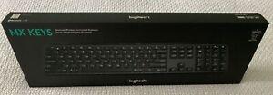 Logitech MX Keys Advanced Illuminated Lit Wireless Keyboard (Latest Model, 2019)