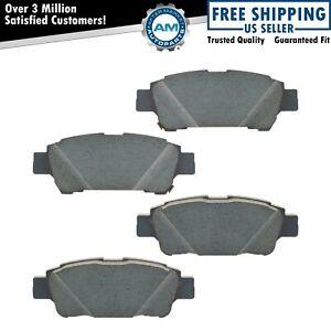 OEM 04466-45010 Rear Disc Brake Pad Set for 04-10 Toyota Sienna Van New
