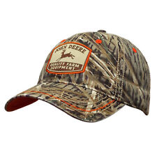 John Deere Hat, John Deere Cap, Trucker hat. 13080408   NWT. Camo/ Orange