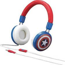 Kid Designs CAM48 HEADPHONES,OVER-EAR With MIC CAPTAIN AMERICA