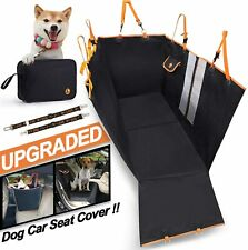 New listing Tianlai Upgraded Dog Car Seat Covers For Back Seat And Front Seat 100% Waterproo