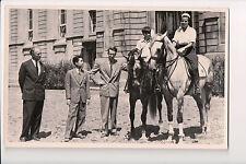 Vintage Postcard King Leopold III of Belgium & Children