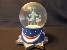 Hallmark Cards Statue Of Liberty Musical Globe