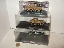 Vehículos militares de automodelismo y aeromodelismo Altaya de escala 1:72