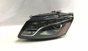 2009 2010 2011 2012 AUDI Q5 LEFT DRIVER SIDE HEADLIGHT XENON HID OEM good tabs