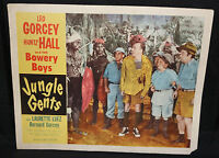 Jungle Gents - Leo Gorcey, Huntz Hall, & the Bowery Boys (C-4) 1954