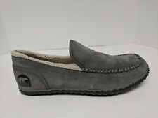 Sorel Dude Moc Slippers, Quarry Grey, Mens 11.5 M