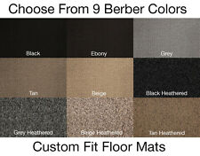 1st Row Berber Carpet Floor Mat for Mercedes-Benz 380SL #T3997