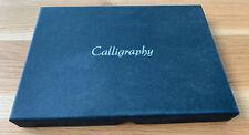 *Neuwertig* Kalligraphie-Set Calligraphy 3 Schreibspitzen und verschiedene Tinte