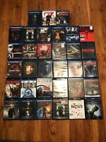 34 Horror Movies Blu Ray Lot Rare Hard To Find Limited Edition HTF OOP