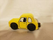 Thomas Wooden 1994 Rare Britt Allcroft Sir Topham Hatt's Yellow Car Vguc