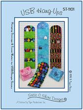 USB Hang-ups, USB Storage Pattern, DIY Sewing, Susie C Shore Designs
