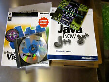 Microsoft Visual J Professional Edition 1996 Java 1.0 Retail Package Box Complet