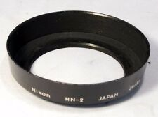 Nikon HN-2 Lens Hood screw in wide angle metal genuine