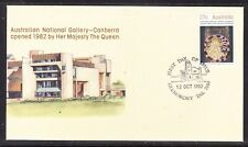 Australia 1982 National Gallery Canberra First Day Cover - Glenorchy Tas