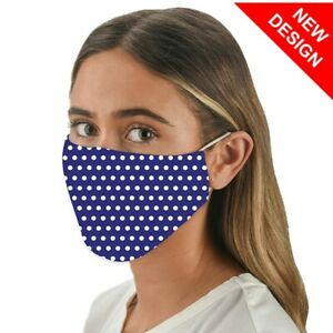 Face Mask Snoozies Washable Face Covering with Filter Pocket - MARINE DESIGN