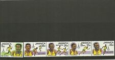 JAMAICA SG498-502-OLYMPIC GAMES MOSCOW  MNH