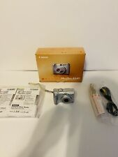 Canon PowerShot A540 6.0MP Digital Camera - Silver IOB