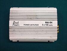 New listing Rock Power Hai-54 Power Amplifier 4x100 Watts