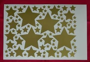 Mixed Stars, Self Adhesive Sticky Stickers Labels, Lots of colours available !