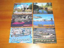 Lot of 6 Postcards Norfolk Virginia Waterside Harbor Park Nauticus etc. Postcard