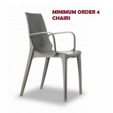 VANITY polypropylene chair. Glossy Turtle-dove. SCAB DESIGN