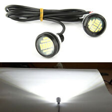 White DRL LED Car Daytime Running Lights Driving Bulbs Daylight 12V Fog Light