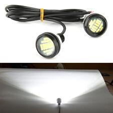 Car Auto 12V 6W LED Eagle Eye Daytime Running Waterproof Backup Light Lamp White