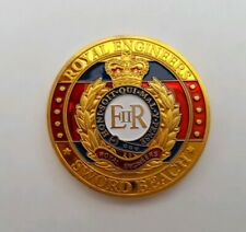 Eiir Royal Engineers D-Day Sword Beach Gold Plated Commemorative Coin