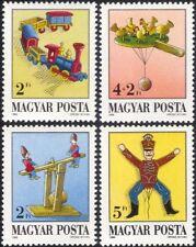 Hongrie 1988 Toy Museum/JOUETS/train/soldat/See-Saw/Poulets 4 V Set (n45268)