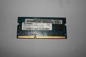 mémoire portable Sodimm 4 Go Elpida PC3-12800 DDR3 1600 Mhz