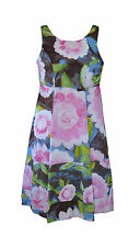 ** NOA NOA ** Pretty Floral Dress ** XS ** Pink / Brown **