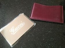 Gucci mirror with leather case