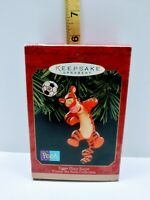 Hallmark Keepsake Ornament 1999 Tigger Plays Soccer Disney Winnie The Pooh