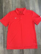 Nike Dri-fit Red Mater Dei Polo Shirt Men's Large