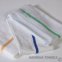 60 5 dozen new striped bar towels bar towels mops cotton super absorbent 16x19
