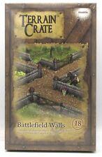 Terrain Crate MGTC126 Battlefield Walls (18 Pieces) Fantasy Scenery Mantic Games