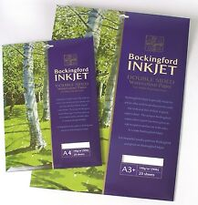 Bockingford Inkjet Watercolour Digital Printer Paper - A3+ - 20 Sheet Pack