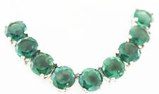 Item #774  Belgian Teal Fluorite (Rnd) Necklace, 18 in. TGW 35.0 Cts.,