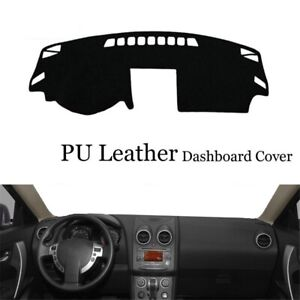 Dashboard Console Cover Leather Protector Sunshield Pad For Nissan Qashqai J10