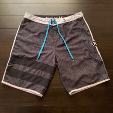 New listing Hurley Phantom Men's Board Shorts Surfing Swimming Trunks Multicolor Size 34