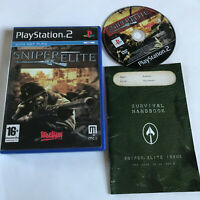 Sniper Elite 1 / Boxed & Instructions / Playstation 2 PS2 / PAL