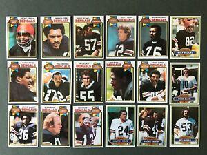 Lot 18 cartes NFL Cincinnati Bengals 1978 1981 TOPPS Football Américain