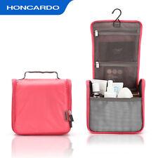 Travel Hanging Wash Toiletry Cosmetic Makeup Case Storage Organizer Bag PINK