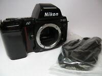 Nikon F-801 Semi Professional Auto Focus SLR Camera Body with MF-21 Control Back